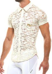 Modus Vivendi Floral Lace Shirt Ivory