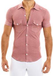 Modus Vivendi Jeans Shirt Dusty Pink