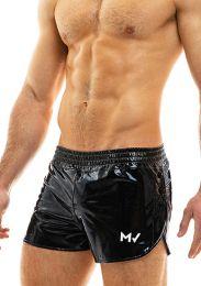 Modus Vivendi Viral Vinyl Shorts Black