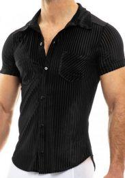 Modus Vivendi Tiffanys Velvet Shirt Black
