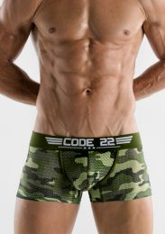 Code 22 Army Trunk Unique
