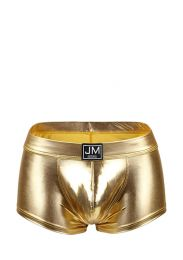 Jockmail High Reflective Solid Boxer Gold