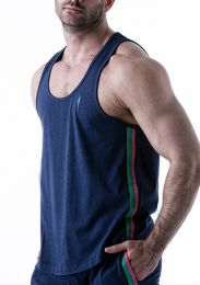 Leader Electric Tank Top Navy