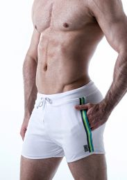 Leader Electric Shorts White