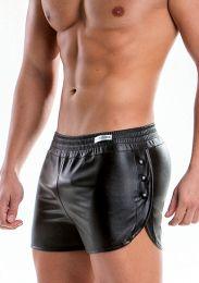 Modus Vivendi Leather Short Black