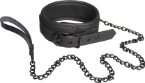 Blaze Collar & Leash Black