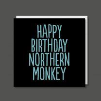 Northern Monkey (BF0234) Birthday Card