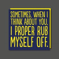 Rub Off (BAB61) Birthday Card
