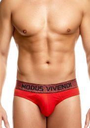 Modus Vivendi Exclusive Brief Red