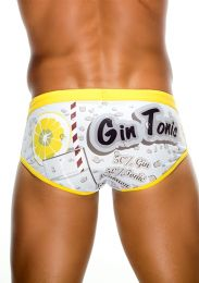 NIT Swim Brief Gin & Tonic Grey 55226