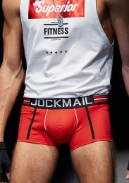 Jockmail Ocotton Boxer Red