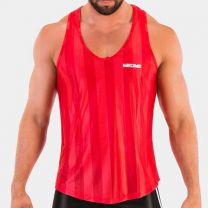 Barcode Berlin Tank Top Travis Red