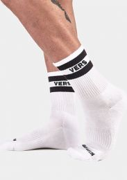 Barcode Berlin Fashion Half Socks Vers Black White