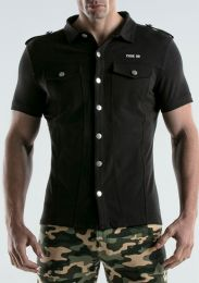 Code 22 Stretch Shirt Black