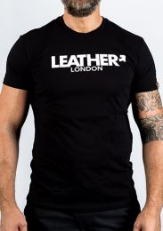 GEAR London LEATHER T Shirt