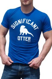 Ajaxx63 Significant Otter T Shirt Royal