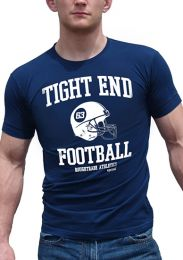 Ajaxx63 Tight End T Shirt Navy