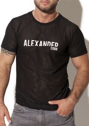 Alexander Cobb Anakena T Shirt Black