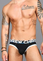 Andrew Christian Almost Naked Cotton Brief 91434 Black