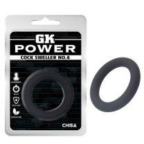 Gk Power Cock Sweller No4 Cock Ring Black