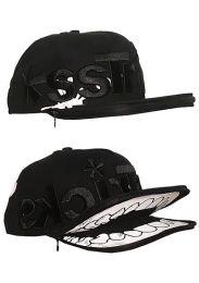AssTricks Zip Skull Hat Black