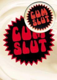 Cum Slut (B38) Birthday Card