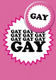 Gay (B5) Birthday Card