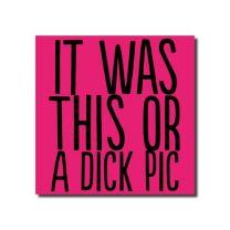 Dick Pic (BAB37) Birthday Card