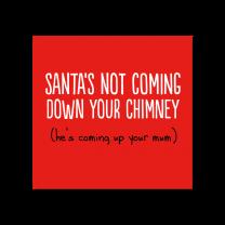 Santas Coming (BF0477) Christmas card