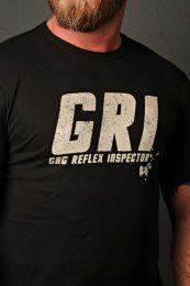 Burly Shirts Gag Reflex Inspector T Shirt Black