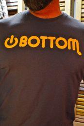 Burly Shirts Power Bottom T Shirt Grey