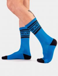 Barcode Berlin Camp Socks Private Blue Black