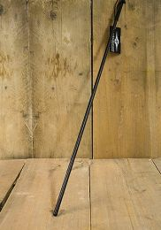 Mr S Leather Unbreakable Cane 1/2 Inch Black