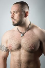 ruff GEAR Boxer Chain 4mm with 30mm Master Lock