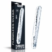 Flawless Clear Double Ended Dildo 12 Inch Translucent