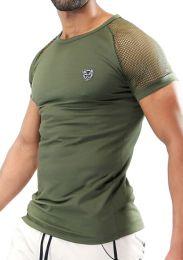 TOF Paris Davio T Shirt Khaki