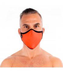 TOF Paris Fashion Seamless Face Mask Orange