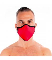 TOF Paris Fashion Seamless Face Mask Red
