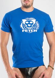 FETCH Logo T Shirt Royal Blue