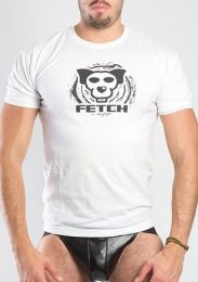 FETCH Logo T Shirt White