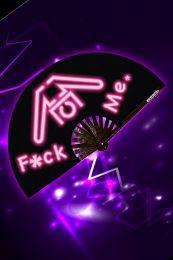 AssTricks Fan Fuck Me Black Purple