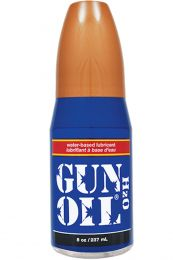 Gun Oil H2O Water Based Lube 8oz