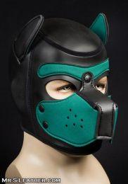 Mr S Leather Neoprene Puppy Hood Black Hunter