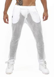 TOF Paris Ibiza Mesh Pants White