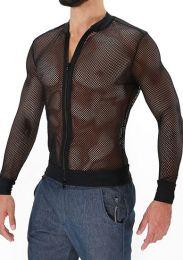 TOF Paris Ibiza Mesh Vest Black