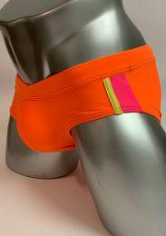 NIT Swim Brief Pack Up Orange 55429