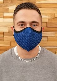 ruff GEAR Easy Breathe Mesh Face Mask Blue