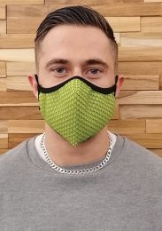 ruff GEAR Easy Breathe Mesh Face Mask Green