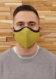 ruff GEAR Easy Breathe Mesh Face Mask Yellow