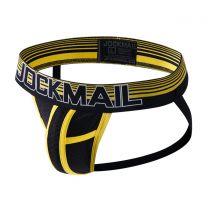 Jockmail Bright Mesh Jockstrap Yellow